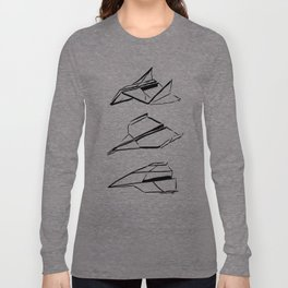 Paper Planes Long Sleeve T-shirt
