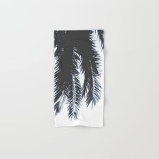 Palm Tree leaves abstract Hand & Bath Towel