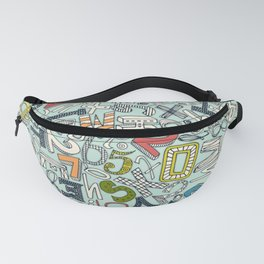 A1B2C3 ICE Fanny Pack
