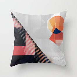 Abstract 2017 046 Throw Pillow