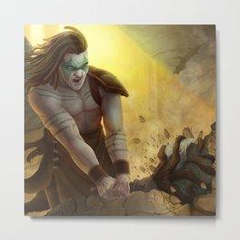 Reliq Smasher Metal Print