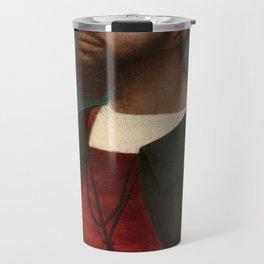 Portrait of an African Man by Jan Mostaert Travel Mug