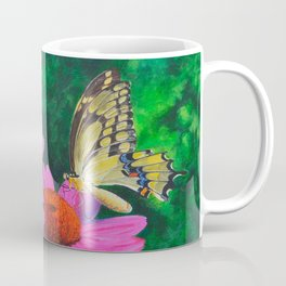 A Visitor In The Garden by Teresa Thompson Coffee Mug
