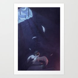 The Wild Swans - The Cell Art Print