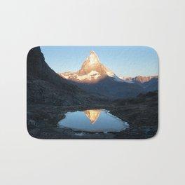 Matterhorn Sunrise Bath Mat
