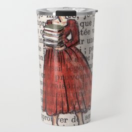 Armfuls Of Books Travel Mug