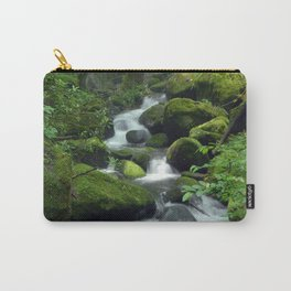 Summer Forest Brook Carry-All Pouch