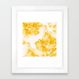 Beautiful Peony Flowers White Background #decor #society6 #buyart Framed Art Print