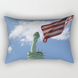 Liberty & Justice Rectangular Pillow