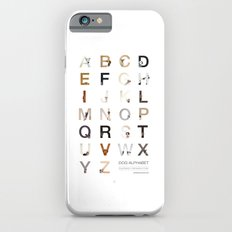Dog Alphabet Slim Case iPhone 6s