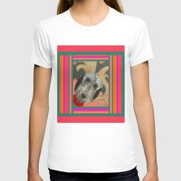 That Dog in color block T-shirt