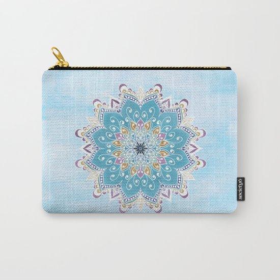 MAGIC FLOWER MANDALA Carry-All Pouch