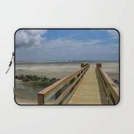 Welcome To The Beach Laptop Sleeve