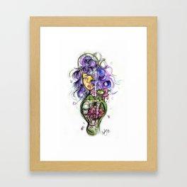 Rose in bloom Framed Art Print
