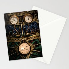 Pressure over time Stationery Cards