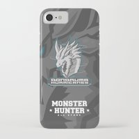 monster hunter iPhone & iPod Cases featuring Monster Hunter All Stars - The Dondruma Hurricanes by Bleached ink