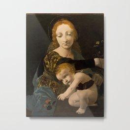 Giovanni Antonio Boltraffio - The Virgin and Child Metal Print