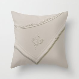 Straight Angle with a Curve Throw Pillow