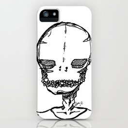skeleton boyfriend iPhone Case