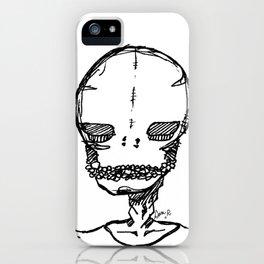 skeleton boyfriend iPhone Case