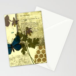 Columbine Love Letters Stationery Cards