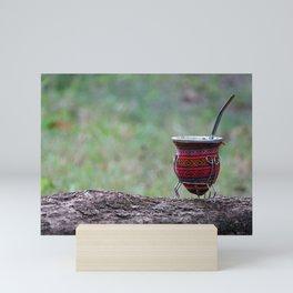 El Mate - Las Costumbres Argentinas - Travel Photography Mini Art Print
