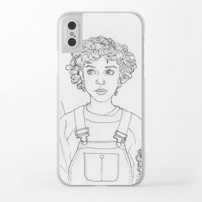 Strange Clear iPhone Case