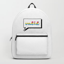 Pan People are Valid Backpack