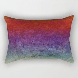 The dark cloths of night and light and the half-light Rectangular Pillow