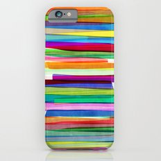 Colorful Stripes 1 iPhone 6 Slim Case