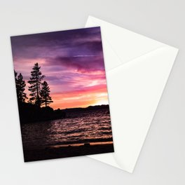 Mountain Sunset Stationery Cards