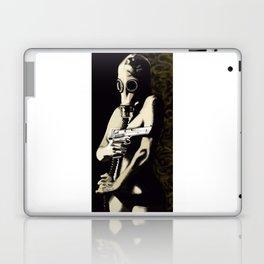 Gas Mask Girl Laptop & iPad Skin