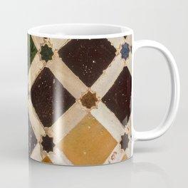 Arrayanes courtyard detais Alhambra Palace. Spain Coffee Mug