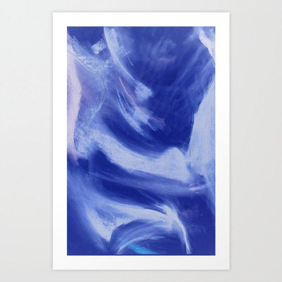 Indigo Dervish Art Print