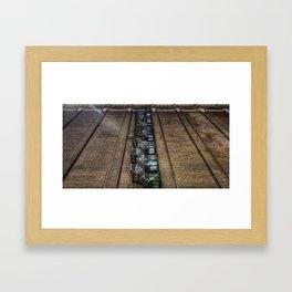 Titanic Tag Framed Art Print