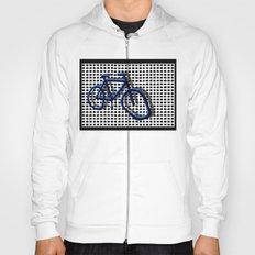 Bike blue Hoody
