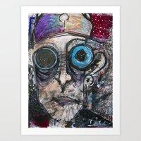 """""""See Minus"""" Art Print"""