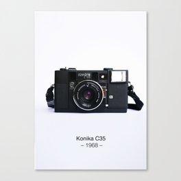 Konika C35 Canvas Print