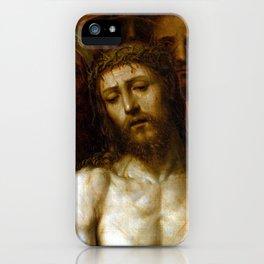 Sodoma (Giovanni Antonio Bazzi) Christ Presented to the People (Ecce Homo) iPhone Case