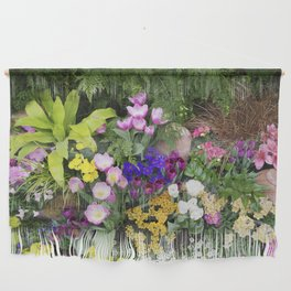 Floral Spectacular - Spring Flower Show Wall Hanging
