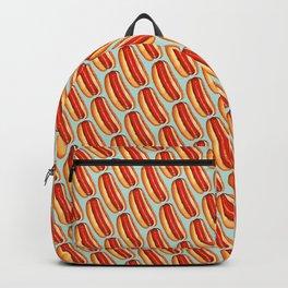 Hot Dog Pattern Backpack