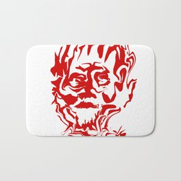face5 red Bath Mat