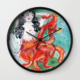 Octo Mom Wall Clock