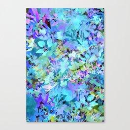Sky Blue Poppies Canvas Print
