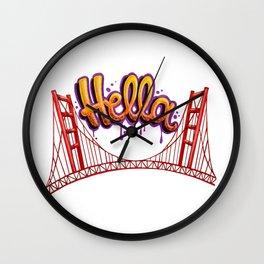 Hella - SF Wall Clock
