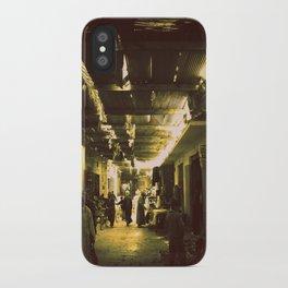 Marrakesh street life iPhone Case