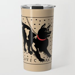 Cave Canem Travel Mug