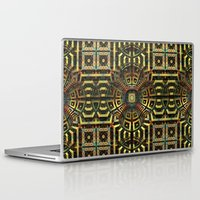 stargate Laptop & iPad Skins featuring Stargate - Mayan Edition by Lyle Hatch