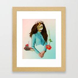 Princess Medusa Framed Art Print