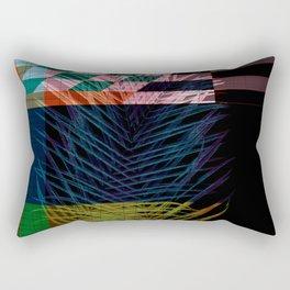 palm pattern design Rectangular Pillow